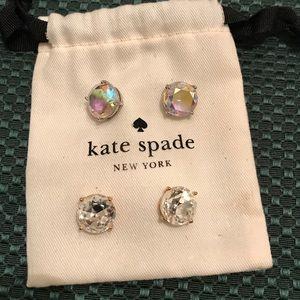 Kate Spade CZ studs, GORGEOUS!